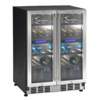 Candy CCVB110T 60cm Wide Wine Cooler Stainless Steel