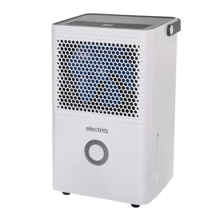electriQ 10 litre dehumidifier with Humidistat for up to 3 bed house. Special Offer