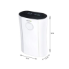 electriQ 12 Litre Low Energy UV Antibacterial Dehumidifier
