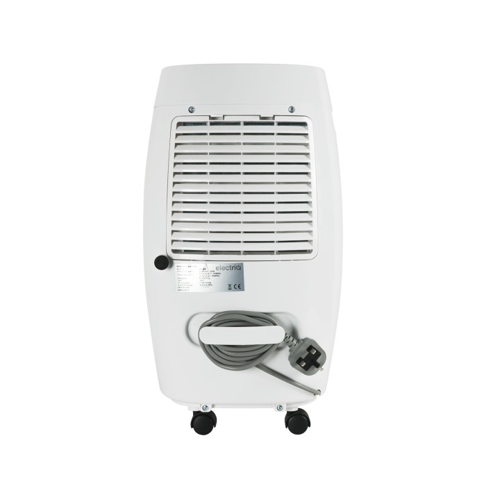 electriq 16 litre low energy dehumidifier for up to 4 bed. Black Bedroom Furniture Sets. Home Design Ideas