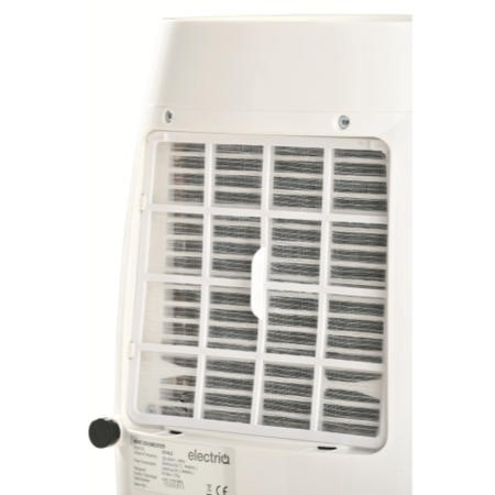 GRADE A1 - ElectriQ 16L Quiet Low Energy Digital Dehumidifier for flats and  up to 4 beds homes