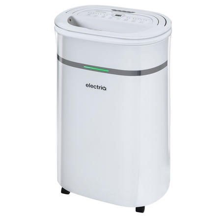 electriQ 20 Litre Dehumidifier with Humidistat for 2 to 5 Bed Homes