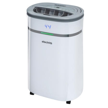 electriQ 25 litre Low Energy WIFI Smart Dehumidifier with True HEPA and UV Air Purifier