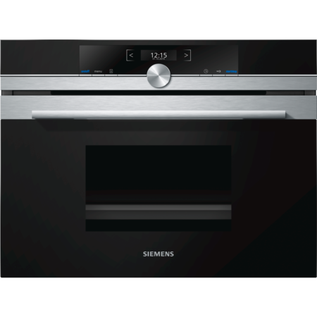 Siemens CD634GBS1B iQ700 Compact Height Steam Oven  With cookControl Plus- Stainless Steel