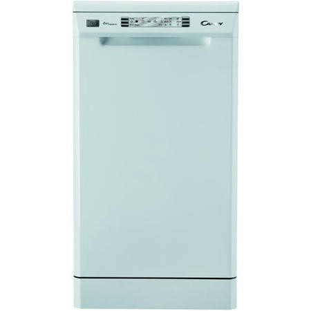 Candy CDP4610-80 10 Place Slimline Freestanding Dishwasher In Moonlight White