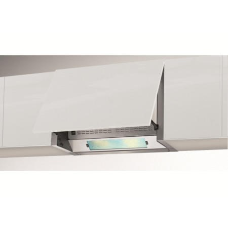 Beko CEB6020S 60cm Wide Integrated Cooker Hood Silver
