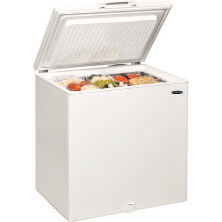 Ice King CF202W 202 Litre Chest Freezer 65cm Deep Frost Free 80cm Wide - White
