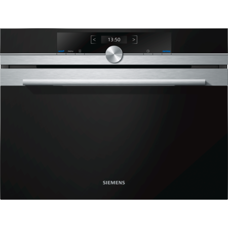 GRADE A2 - Siemens CF634AGS1B iQ700 36L Built In Microwave with TFT Display - Stainless Steel