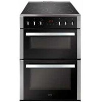 CDA CFC630SS 60cm Double Oven Electric Cooker With Ceramic Hob - Stainless Steel Best Price, Cheapest Prices