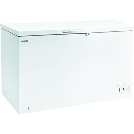 Hoover CFH382AWK 143cm Wide 412 Litre Chest Freezer - White