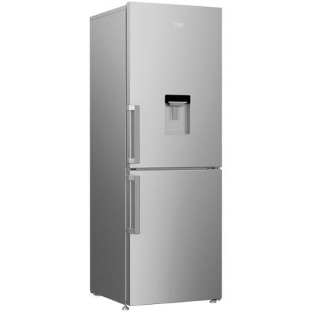 Beko CFP1675DS 175x60cm Frost Free Freestanding Fridge Freezer With Non-plumbed Water Dispenser Silv