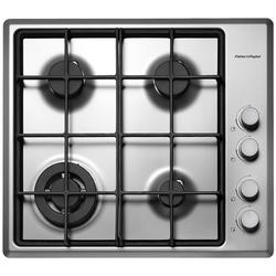 Fisher & Paykel CG604DWFCX1 89285 Four Burner 60cm Gas Hob Brushed Stainless Steel