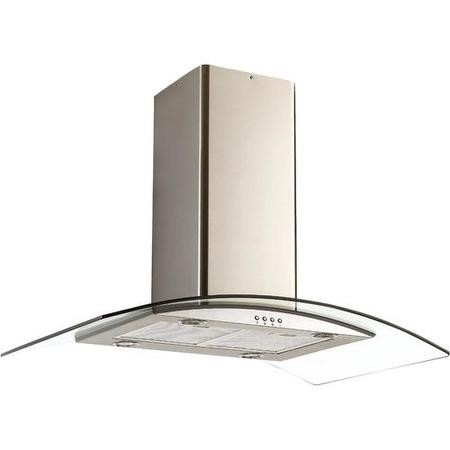 Candy CGI96NX 90cm Island Cooker Hood - Stainless Steel