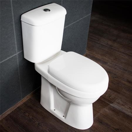 Comfort Height Close Couple Toilet with Soft Close Seat