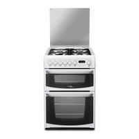 Hotpoint CH60DHWFS Harrogate Double Oven 60cm Dual Fuel Cooker - White