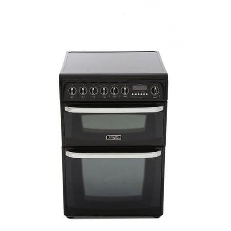Hotpoint CH60EKK Kendal Double Oven 60cm Electric Cooker in Black