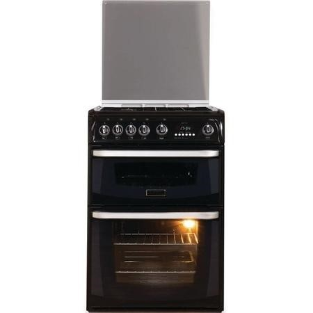 Hotpoint CH60GCIK Carrick Double Oven 60cm Gas Cooker Black