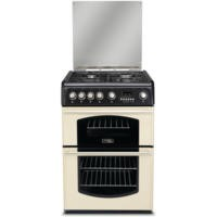 Hotpoint CH60GTCF Traditional Double Oven 60cm Gas Cooker in Cream