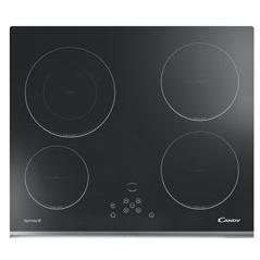Candy CH642X 59cm Touch Control Ceramic Hob Stainless Steel Trim