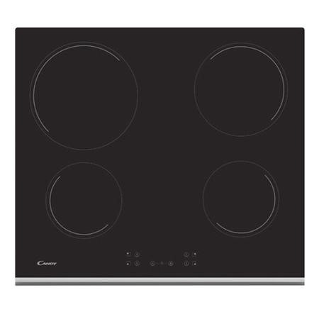 Candy CH64XB 60cm Electric Ceramic Hob With Touch Controls