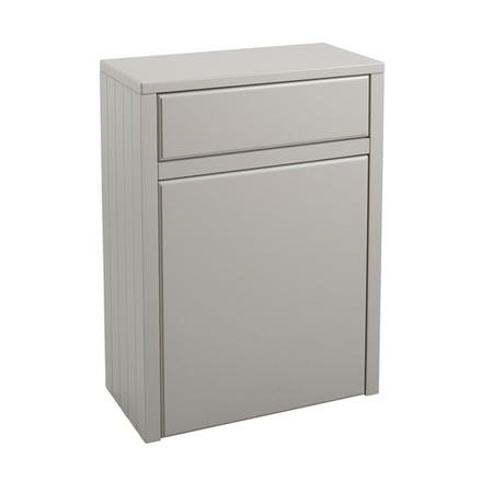 Grey Traditional WC Toilet Unit without Toilet - W600 x D303mm