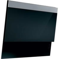 NordMende CHDBGL553 55cm Black Glass with SS frontal Angled Cooker Hood