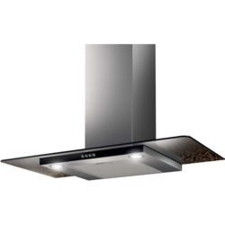 NordMende CHFGLS903IX 90cm Stainless Steel Chimney Cooker Hood With Flat Glass Canopy