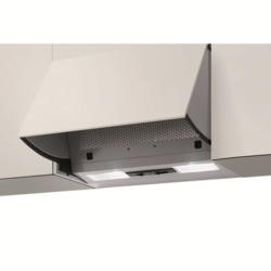 NordMende CHINT1M Single Motor Canopy Cooker Hood Metallic Grey