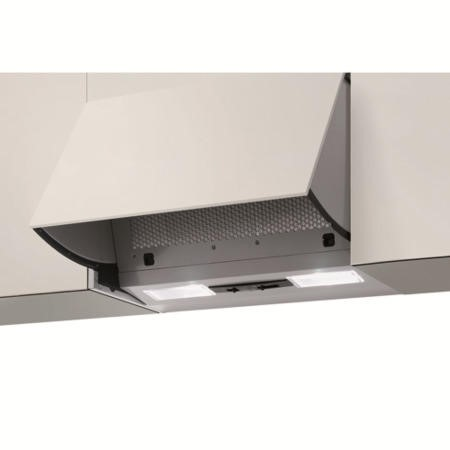 NordMende CHINT3M Twin Motor Canopy Cooker Hood Metallic Grey