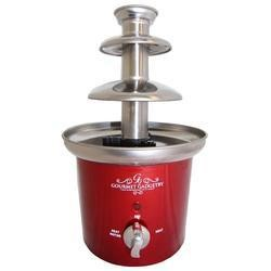 GOURMET GADGETRY CHOCOLATE FOUNTAIN Xs14 Retro Diner Chocolate Fountain Metallic Red