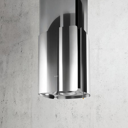 Elica CHROME-46 46cm Island Cooker Hood With Deep Silence System Stainless Steel
