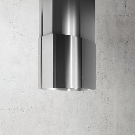 Elica CHROME-85 85cm Island Cooker Hood With Deep Silence System Stainless Steel