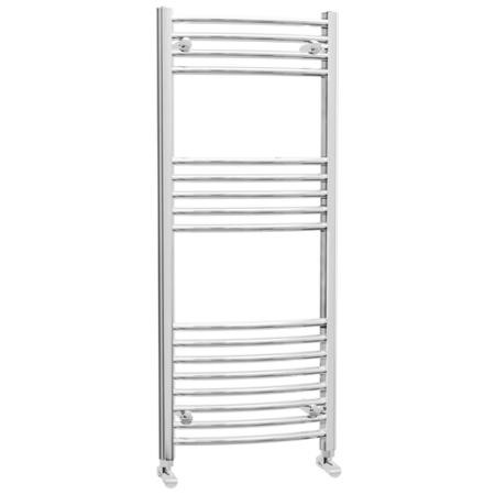 Ellie Electric Curved Heated Towel Rail Radiator - 500 x 1200mm