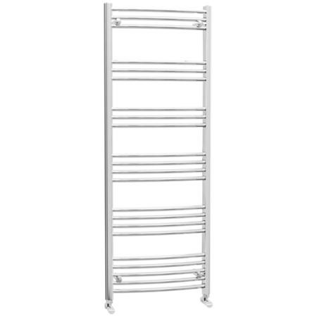 Ellie Electric Curved Heated Towel Rail Radiator 600 x 1600mm