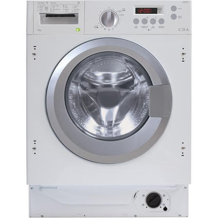 CDA CI361 6kg 1200rpm Integrated Washing Machine - White