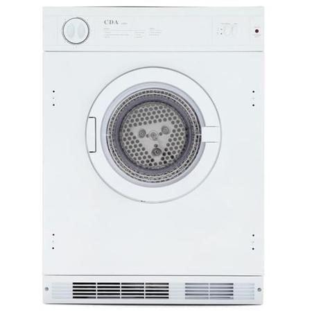 GRADE A2 - CDA CI921 7kg Integrated Vented Tumble Dryer - White