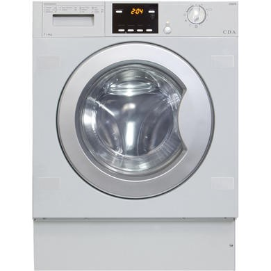 CDA CI926 7kg Wash 4kg Dry Integrated Washer Dryer - White