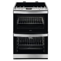 AEG 60cm Double Oven Induction Electric Cooker - Stainless Steel Best Price, Cheapest Prices