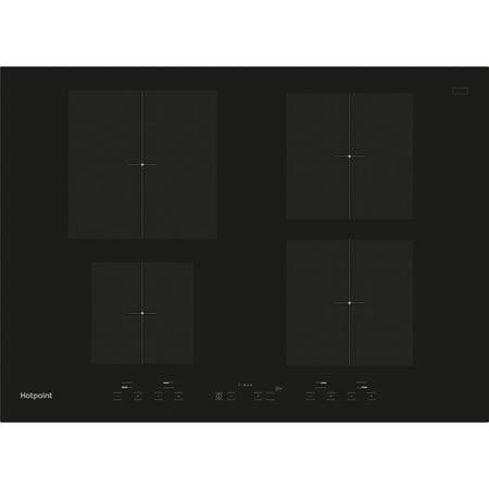 Hotpoint CID740B Four Zone 70cm Induction Hob Black