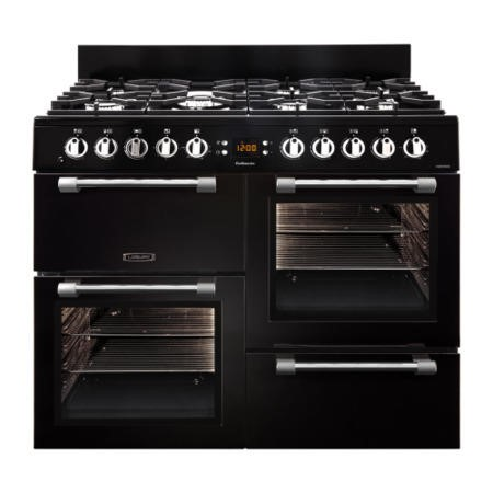 Leisure CK100F232K Cookmaster 100cm Dual Fuel Range Cooker Black