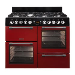 Leisure CK100F232R Cookmaster 100cm Dual Fuel Range Cooker Red