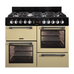 Leisure CK100G232C Cookmaster 100cm Gas Range Cooker Cream