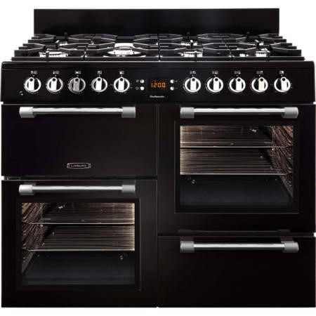 GRADE A2 - LEISURE CK100G232K Cookmaster 100cm Gas Range Cooker Black