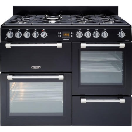 LEISURE CK110F232K 110cm Dual Fuel Range Cooker Black