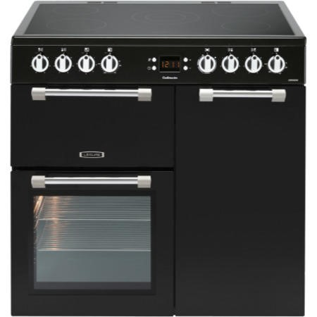 Leisure CK90C230K Cookmaster Black 90cm Electric Range Cooker With Ceramic Hob