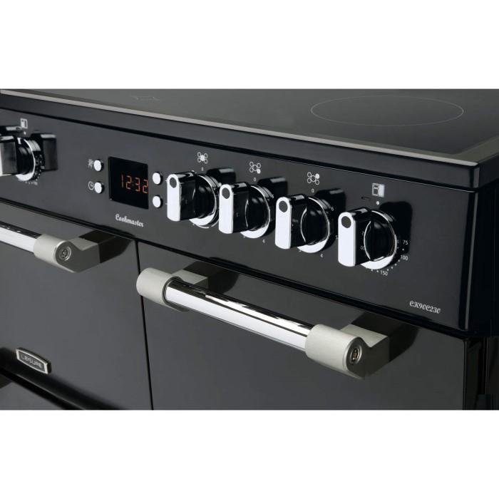 Leisure Ck90c230k Cookmaster Black 90cm Electric Range