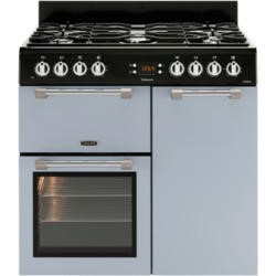 Leisure CK90F232B Cookmaster Blue 90cm Dual Fuel Range Cooker