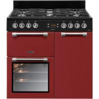 Leisure CK90F232R Cookmaster Red 90cm Dual Fuel Range Cooker