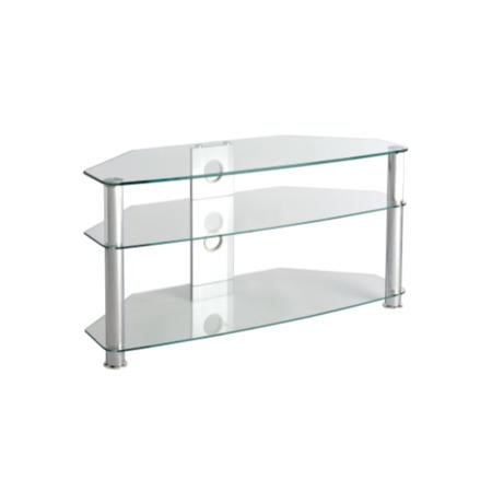 MMT CL1000 Glass TV Stand - Up to 46 Inch