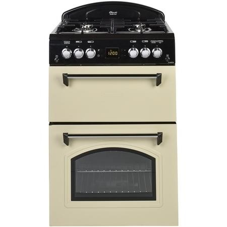 Leisure Beko CLA60GAC Classic 60cm Double Oven Gas Cooker Cream